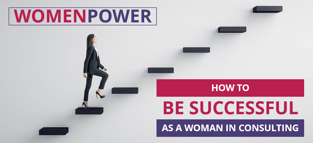 Women in Consulting Moving up the Career Ladder