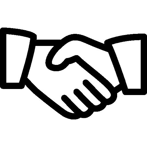 Handschlag Icon